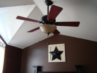 Guide on how to install Ceiling fan on vaulted ceiling ...
