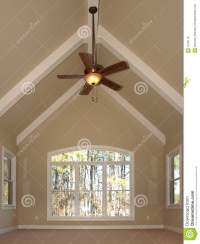 Ceiling fan on vaulted ceiling | Warisan Lighting