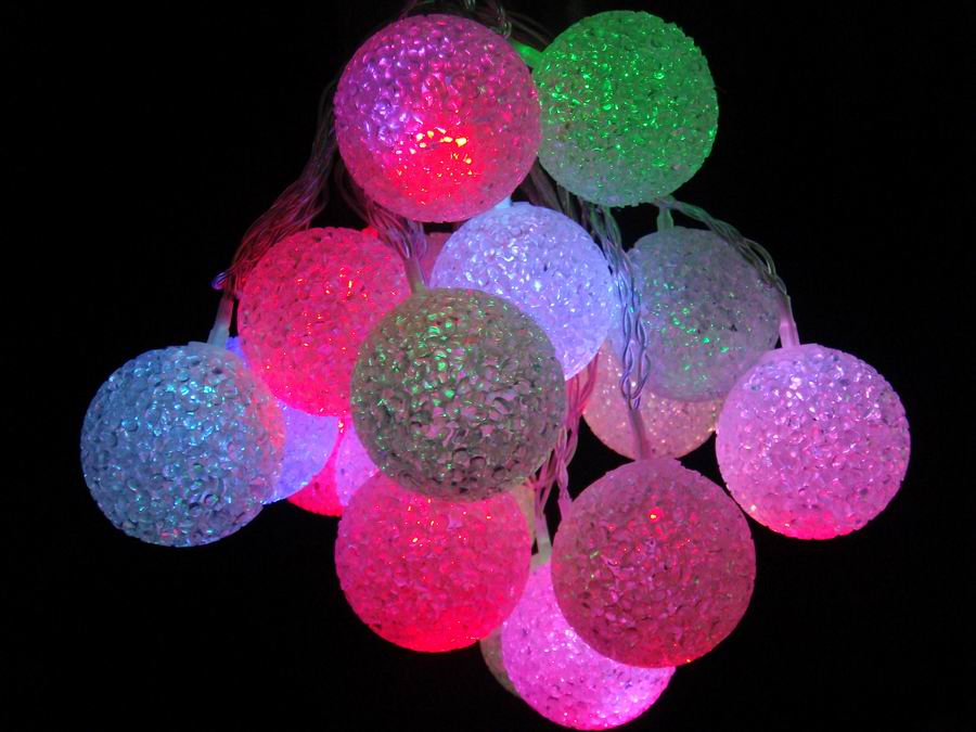 Le Roy Merlin Suspension Christmas Globe Lights Outdoor - Significant Decorative