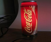 Coke lamp Will Add Taste To Your Decor Due To Their ...