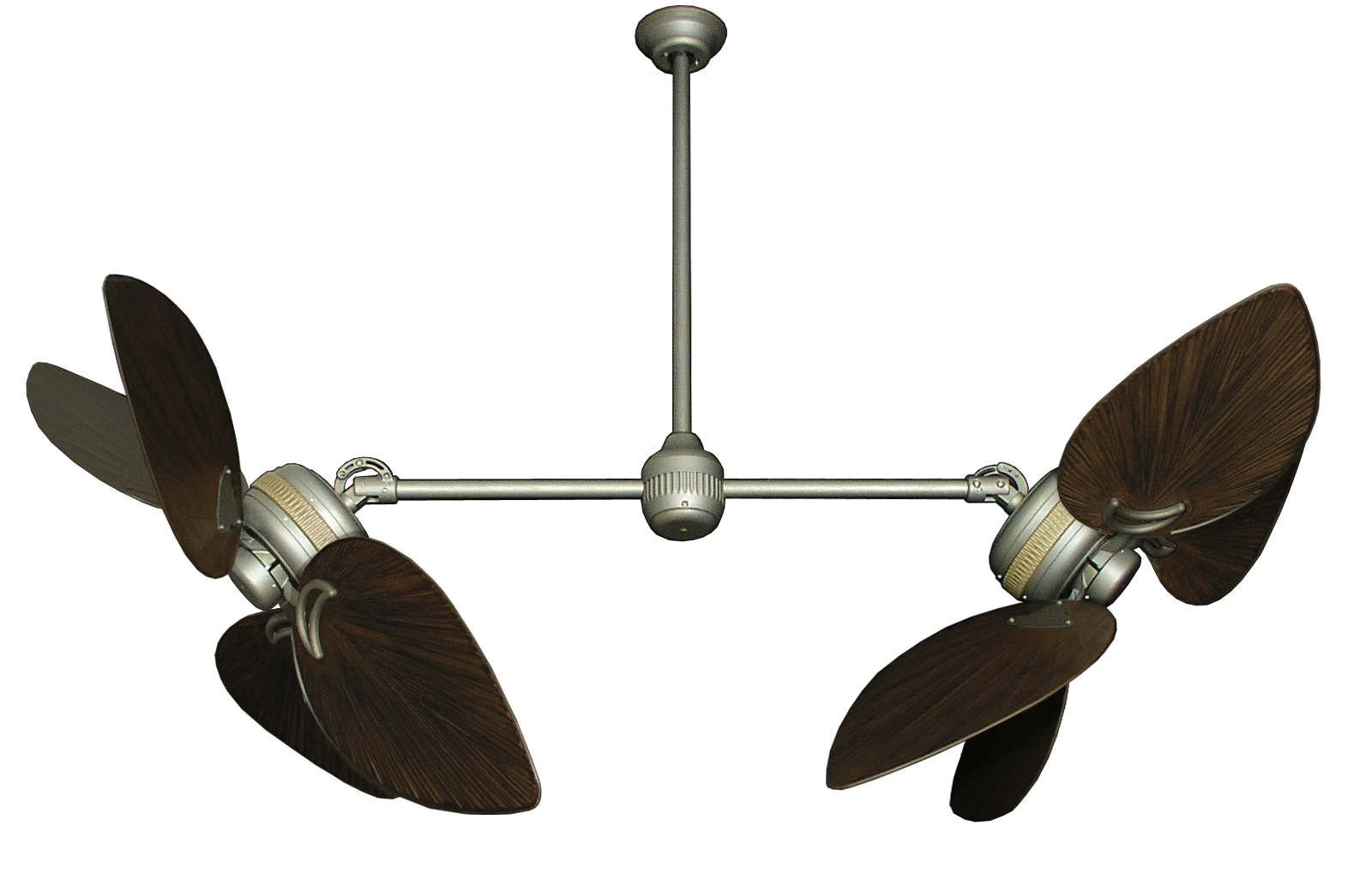 Double Paddle Ceiling Fans Double Blade Ceiling Fan An Eccentric Designed Fan For