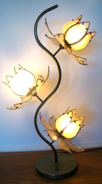 Flower lamps are the beautiful product to decorate home ...