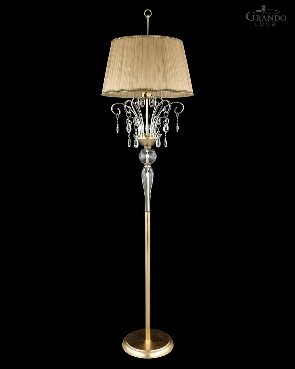 Gold Floor Reading Lamp Gold Floor Reading Lamp