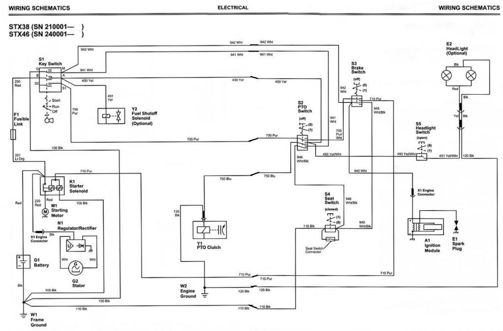 Wiring Diagram For John Deere 212 Wiring Diagram