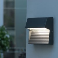 Led outdoor wall lights - enhance the architectural ...