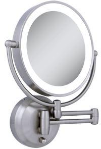 lighted makeup mirror wall mount  Roselawnlutheran