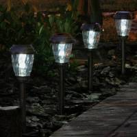 Pathway solar lights outdoor - set the right ambiance for ...
