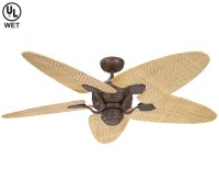 Have Outdoor Fun with Rattan ceiling fans | Warisan Lighting