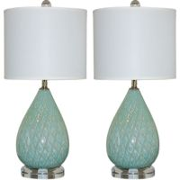 Small bedside table lamps - great decorations to set the ...