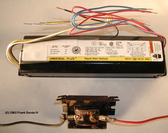 t8 fluorescent light ballast wiring diagram how to repair