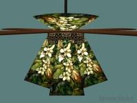 Ceiling Fan Glass Shades. TOP 10 Tiffany Style Ceiling Fan