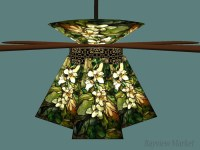 Ceiling Fan Glass Shades. TOP 10 Tiffany Style Ceiling Fan ...