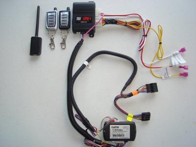 Remote Starter Kit w/ Keyless Entry for Jeep Compass - True Plug