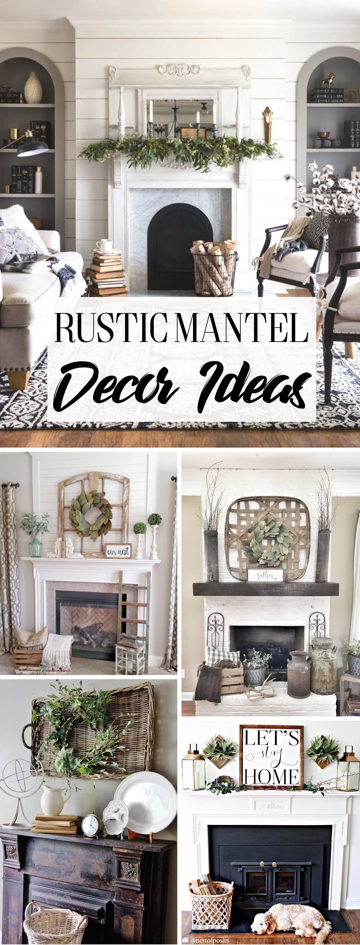 Farmhouse Rustic Fireplace Mantel Decor 14 Glorious Rustic Mantel Decor Ideas You Ll Fall Head Over Heels