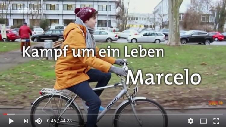 Marcelos Sturz aus dem Fenster