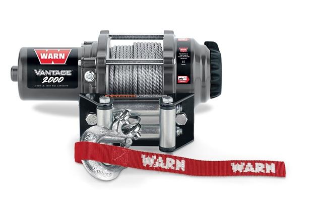 Vantage 2000 Winch WARN Industries Go Prepared