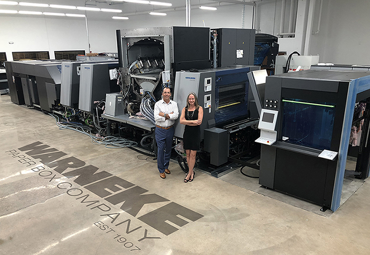 WPB, Warneke, Warneke Paper Box, Primefire, Digital Printing, Printing Press, Heidelberg