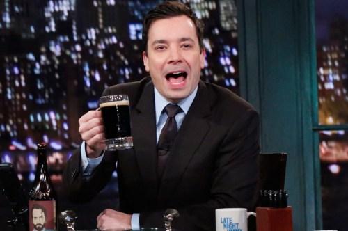 Medium Of Jimmy Fallon Alcoholic