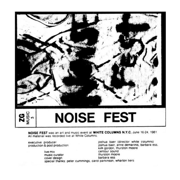 Noise Fest cover