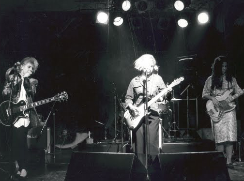 Throwing Muses in 1985 | Photo by J. Narcizo