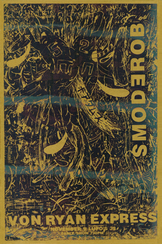 BOREDOMS VON RYAN EXPRESS Poster by Mat Brinkman, 1993.