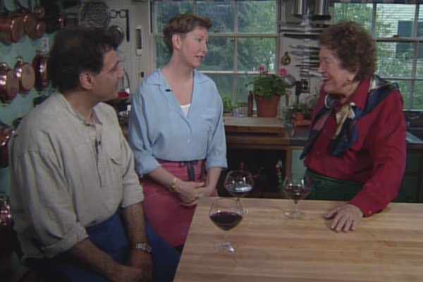George + Johanne appeared on Julia Child's PBS show.