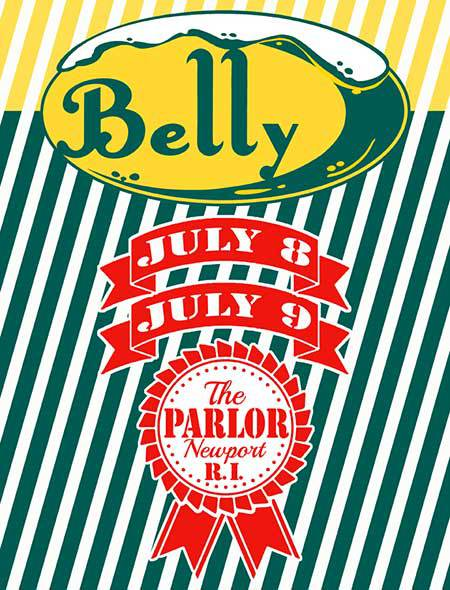 Belly shows at the Parlor in Newport.