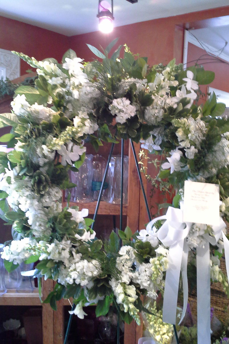 Hydrangea Flower Delivery Funeral Arrangements - Warren Country Events