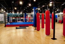 Top of the line boxing gym