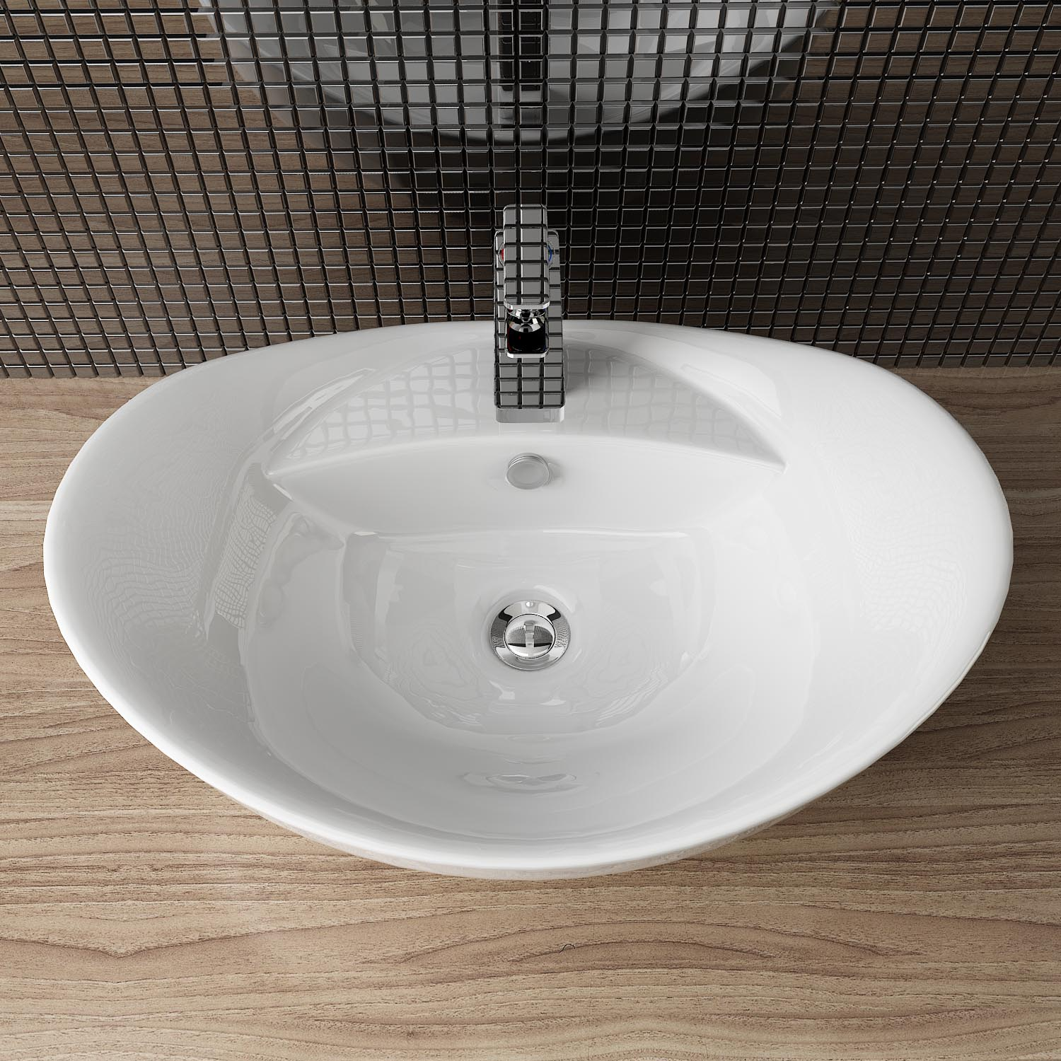 Aufsatzwaschbecken Tisch Design Ceramic Patch Sink & Table Hand Wash Basin Guest Wc A82 | Ebay
