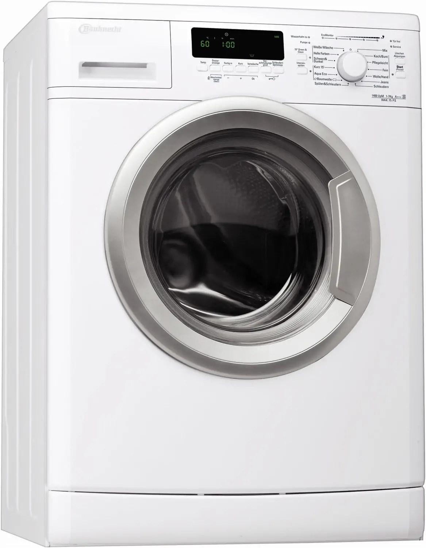 Siemens Wm14e446 Waschmaschine Im Test 07 2018