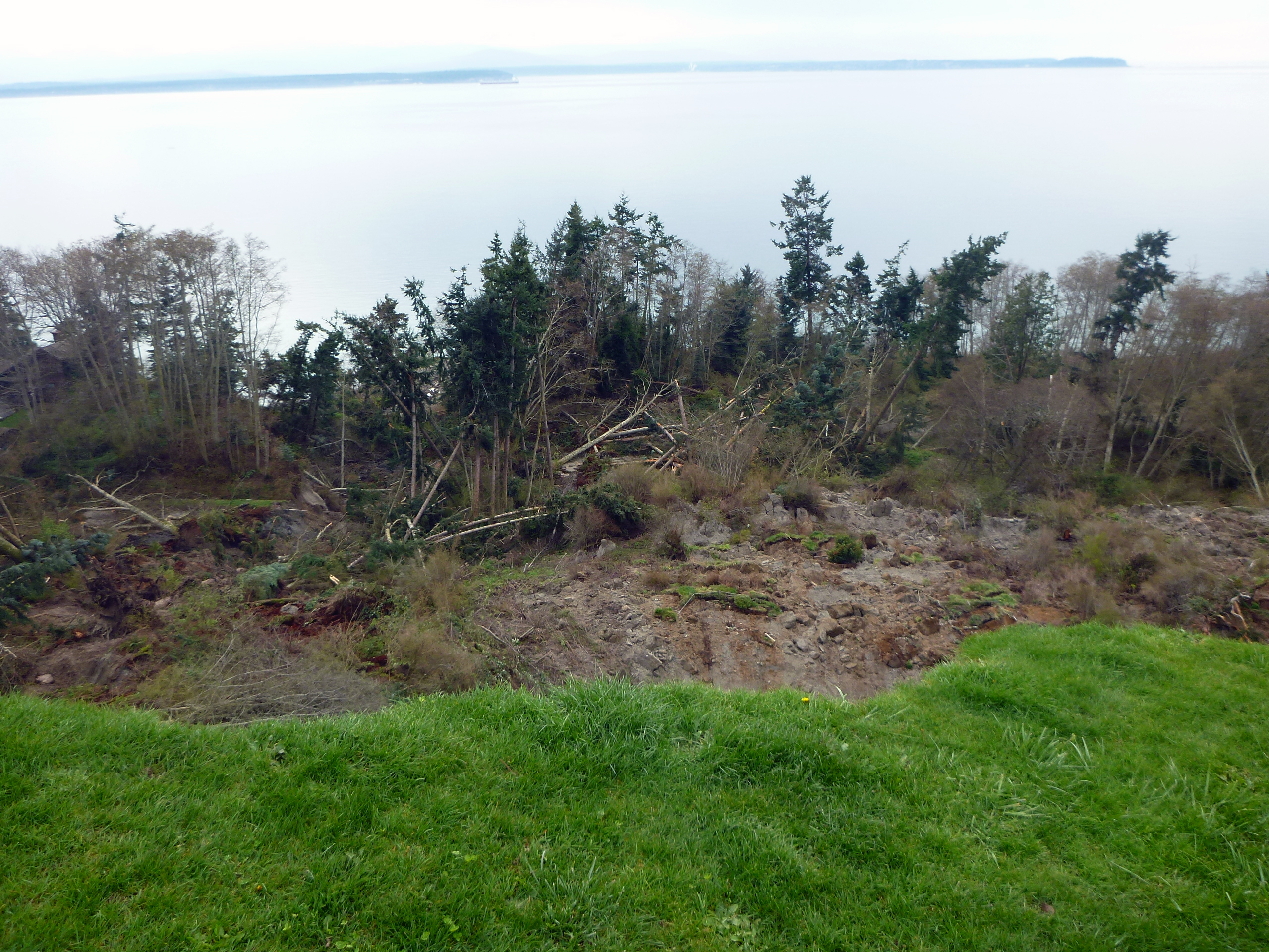Camano Island Dump Whidbey Island Coupeville Landslide Ear To The Ground By