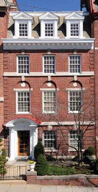 Steve and Blair Raber purchased a renovated  four-story row house on S Streete NW in Kalorama for $2,395,000 from Jeffrey A. Wade, who purchased it in 2005 for $1.75 million.