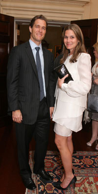 Eric Zinterhofer and Aerin Lauder Zinterhofer.