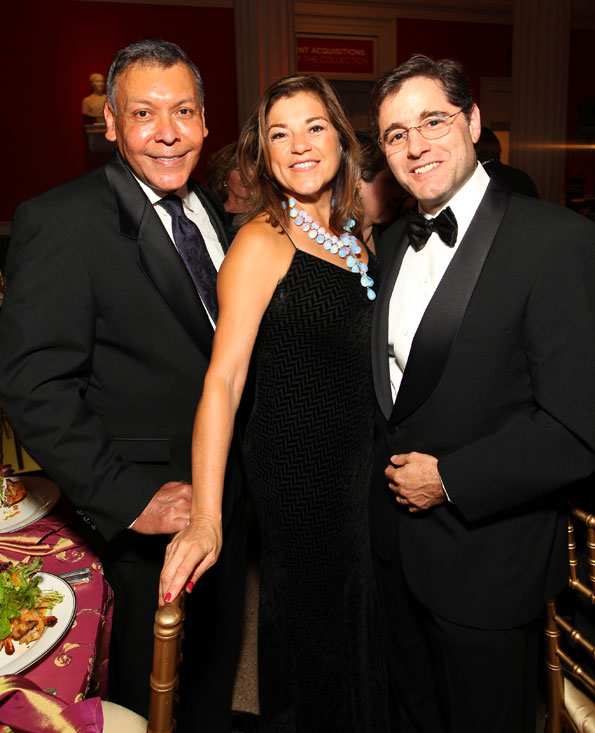 Feliz Sanchez, Congresswoman Loretta Sanchez, FCC Chairman Julius Genachowski, Photo by Tony Powell