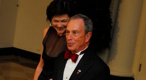 New York Mayor Michael Bloomberg. Photo by Kyle Samperton