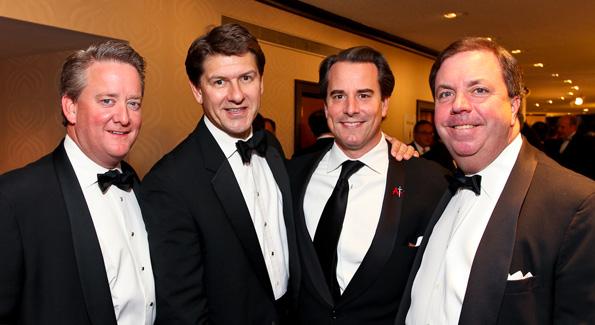 steve Kupka, Lyndon Boozer, Stuart Holliday, and Chip Stelljes. (Photo by Tony Powell)
