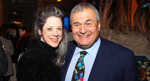"Heather and Tony Podesta. ""Journey to Mecca"" IMAX Gala Screening. Museum of Natural History. (photo by Tony Powell)"