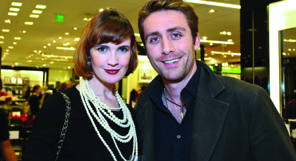 Philippe Cousteau with Stephanie Green