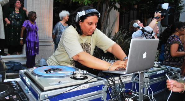 DJ Rekha. Photo by Roshan Farazad.