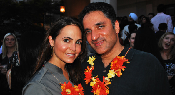 Eleni Boosalis and Jubir Jossan. Photo by Roshan Farazad