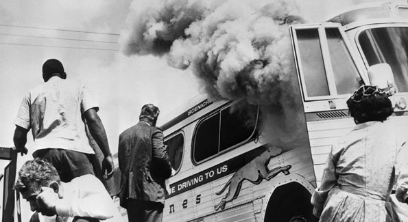 "Still from ""Film Forward"" movie Freedom Riders. Photo Courtesy of Corbis."