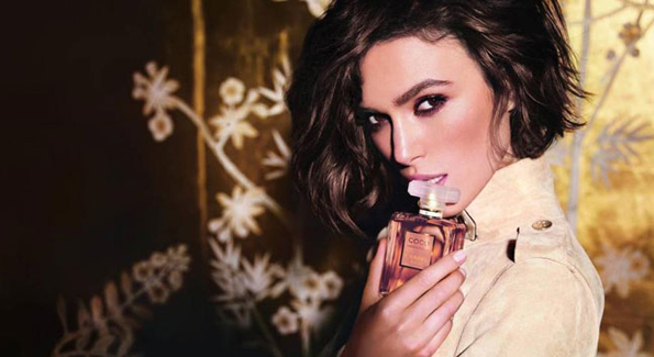 Keira Knightley is the face of the fragrance Coco Mademoiselle since 2006