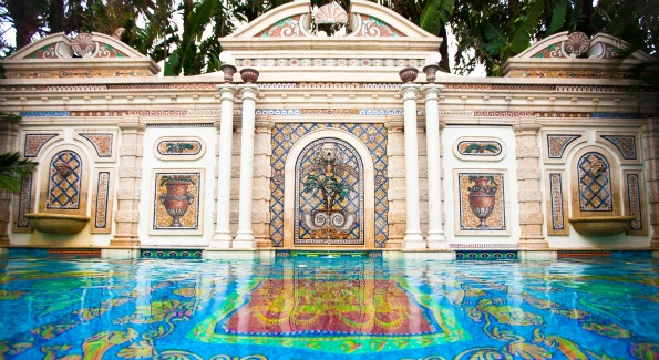 Life of the party charity by design washington life for Versace pool design