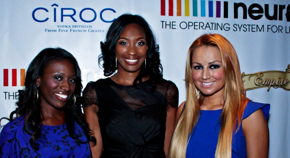 From left to right: Vic Jagger, Joi-Marie McKenzie (creator or Fab Empire) and Sunni