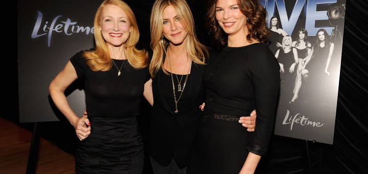 Patricia Clarkson, Executive Producer and Director Jennifer Aniston, Jeanne Tripplehorn
