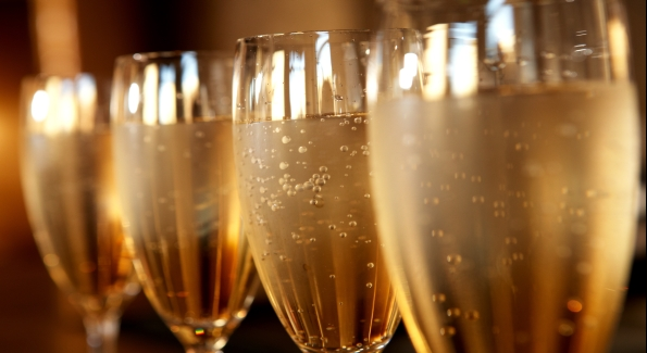 Raise a flute of bubbly on October 28 at Proof or Marcel's.