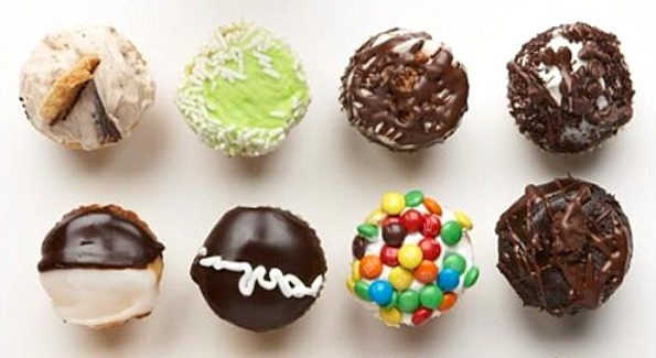 Cupcakes from Crumbs Bake Shop. Now opening on 17th St.