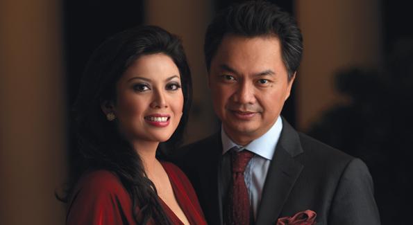 Indonesian Ambassador Dino Patti Djalal and his wife Rosa Rai Djalal. Photo courtesy of the Indonesian Embassy.