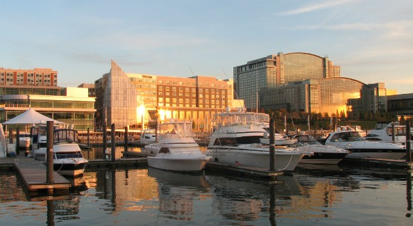 Waterfront at National Harbor. Photo by Joseph A.